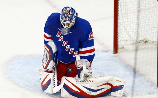 Henrik Lundqvist was big for the Rangers in Game 4.(USATSI)