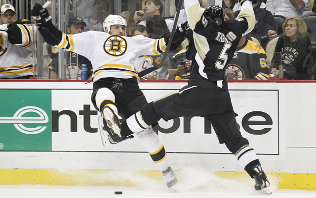 The Penguins need to focus more on skill than delivering big hits. (USATSI)