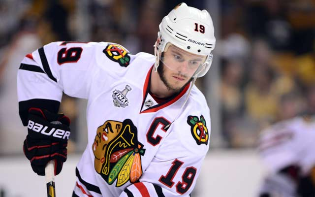 Jonathan Toews says it's 'naive' to think no NHLers are using PEDs. (USATSI)
