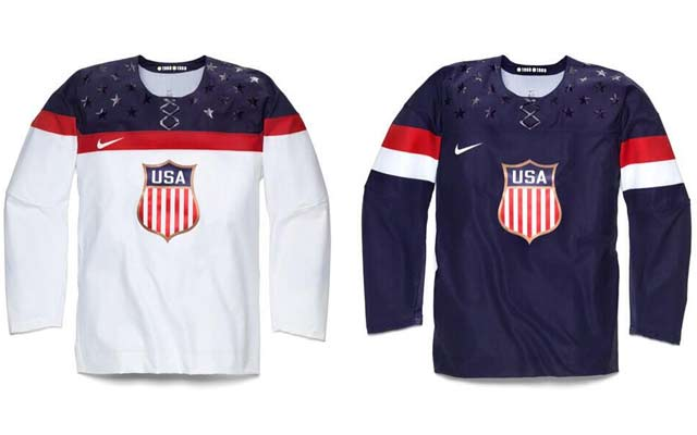 Team USA's sweater for the Sochi Games. (CBSSports.com Original)