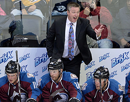 Patrick Roy has two wins in two games as coach of the Colorado Avalanche. (USATSI)