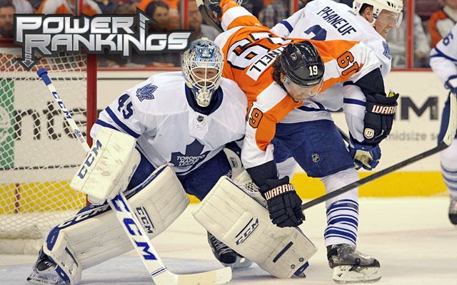 The Flyers can't get out of their own way while the Leafs keep winning despite themselves. (USATSI)