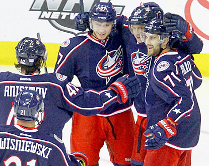 The Blue Jackets earn their first win at home while snapping a four-game losing streak. (USATSI)