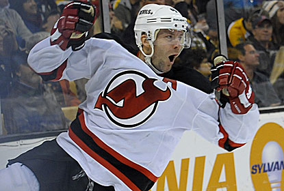 Devils defenseman Andy Greene caps the comeback with his goal, which comes 23 seconds after Marek Zidlicky's. (USATSI)