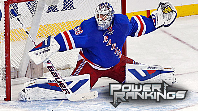 Another reason for the Rangers' resurgence? The play of starter Henrik Lundqvist in goal. (USATSI)