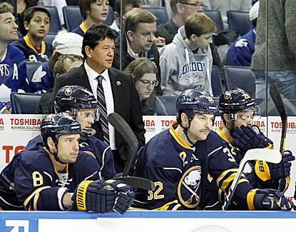 Ted Nolan is back behind the Buffalo bench, and the Sabres respond with a 3-1 win over Toronto. (USATSI)