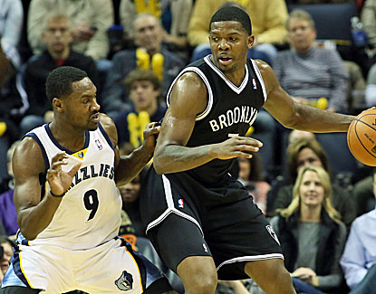 Joe Johnson gives the Brooklyn Nets a lift they sorely need, lighting up the Grizzlies for 26 points. (USATSI)
