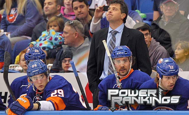 Right or wrong, pressure keeps building on Islanders coach Jack Capuano. (USATSI)