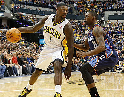 Lance Stephenson goes for 20 points and 11 rebounds as the Pacers remain the NBA's best team. (USATSI)