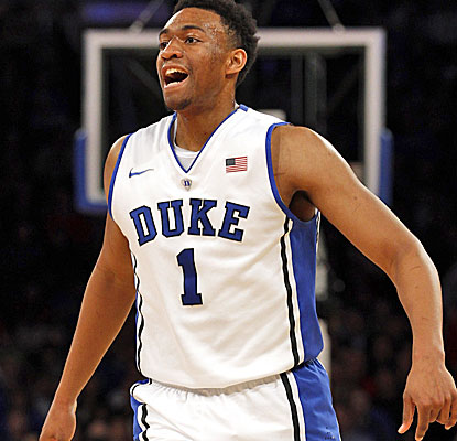 Duke freshman Jabari Parker continues to impress, scoring 23 points and grabbing 10 rebounds against UCLA. (USATSI)