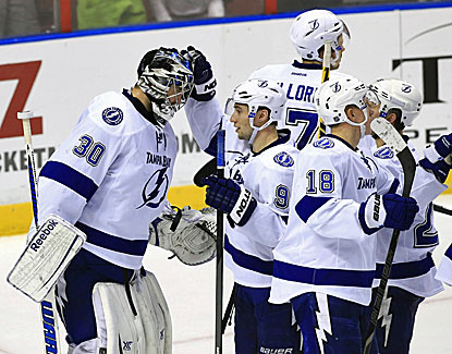 Ben Bishop and the Tampa Lightning have a five-game winning streak after Monday's win over the Panthers. (USATSI)