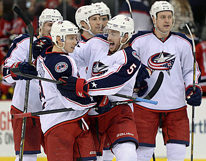 The Blue Jackets pick up their third straight win, this time getting past New Jersey on Cam Atkinson's overtime goal. (USATSI)