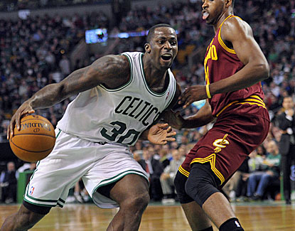 Brandon Bass scores 15 points to go with a game-saving blocked shot in the closing seconds for Boston. (USATSI)