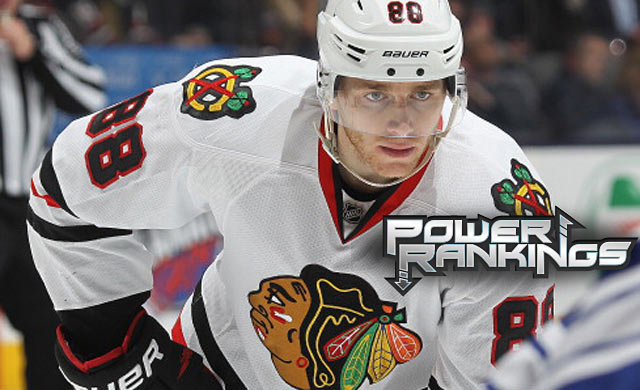 Patrick Kane has raised his game into impressive territory. (Getty Images)