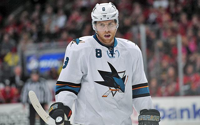 Joe Pavelski is one of the NHL's unlikely goal scoring leaders. (USATSI)