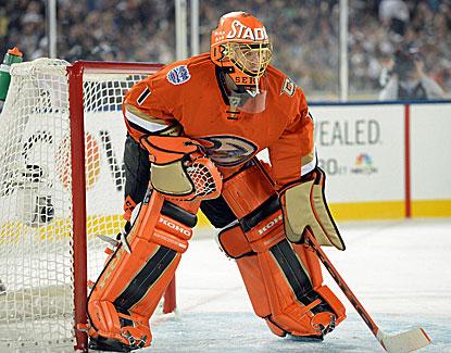 da8ac5bbe Ducks goalie Jonas Hiller makes 36 saves for career shutout No. 20 as  Anaheim beats