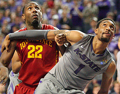 Shane Southwell comes off the bench to score 13 points for Kansas State and also grabs five rebounds. (USATSI)