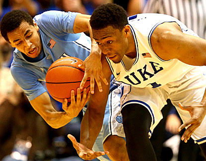 Freshman Jabari Parker delivers for the Blue Devils against North Carolina, scoring a career-high 30 points. (USATSI)