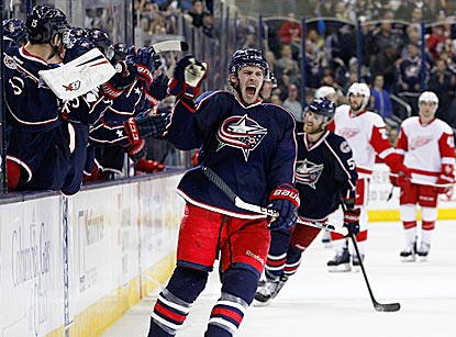 NHL Recap - Detroit Red Wings at Columbus Blue Jackets - Mar 11