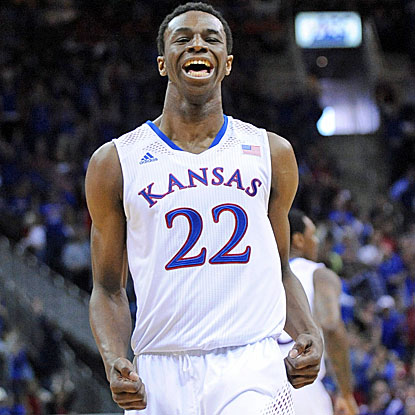 Andrew Wiggins (30 points) shows off the skills that have some experts ranking him as the top pick in the NBA Draft. (USATSI)