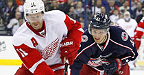 Red Wings-Blue Jackets
