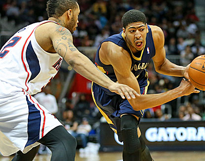 Anthony Davis continues to impress, scoring 34 points and grabbing 11 rebound against the Hawks. (USATSI)