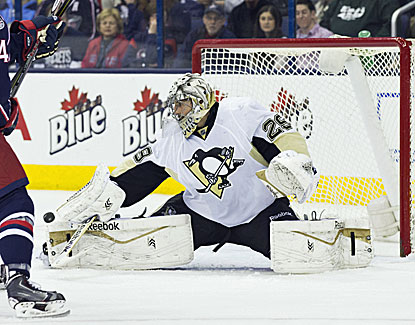 Marc-Andre Fleury and the Penguins are back in the postseason after posting a 2-1 win over Columbus. (USATSI)