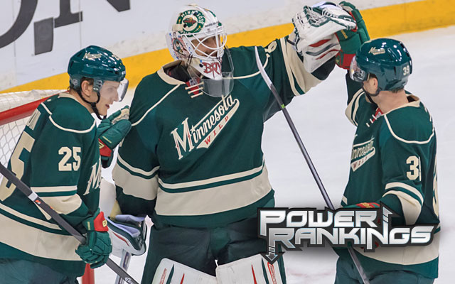 The Wild will be in the NHL playoffs for the second time in three seasons. (USATSI)