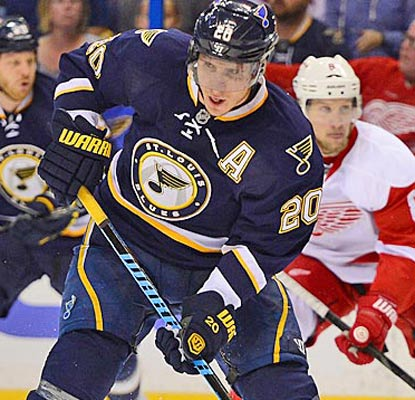 Despite a team-record 52 victories and 111 standings points, the Blues go into the playoffs looking vulnerable.  (USATSI)