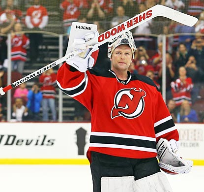 The Devils' final game of the season becomes a Martin Brodeur lovefest.  (USATSI)