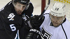 Sharks surge past Kings