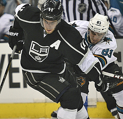 Anze Kopitar nets a pair of goals and an assist, and the Kings have recovered from a 3-0 hole to force Game 7.  (USATSI)