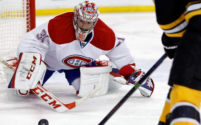 Carey Price withstands a Bruins onslaught give the Canadiens a chance. (USATSI)