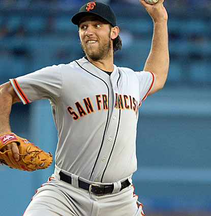 Madison Bumgarner and the Giants continue their string of fine play, winning their 12th game in 15 games. (USATSI)