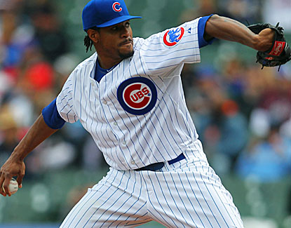 Chicago's Edwin Jackson mows down the Brewers, striking out 11 Milwaukee batters over seven innings. (USATSI)