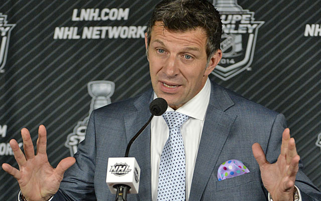 Marc Bergevin's Canadiens trail the Rangers in the Eastern Conference finals. (USATSI)