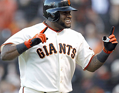 Giants third baseman Pablo Sandoval might be heating up. He homers for the fourth time in six games. (USATSI)