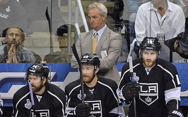 Darryl Sutter's Kings have to clean up their act before mistakes burn them in New York. (USATSI)