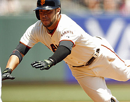 Gregor Blanco does a little bit of everything, doubling, singling and driving in three runs. (USATSI)