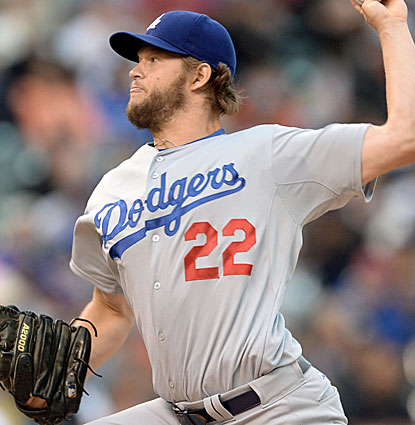 LA's Clayton Kershaw strikes out nine batters in just five innings while lowering his ERA to 3.17. (USATSI)