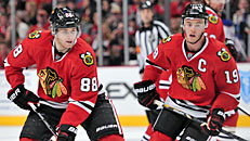 Toews, Kane cash in