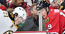 Bruins-Blackhawks (USATSI)