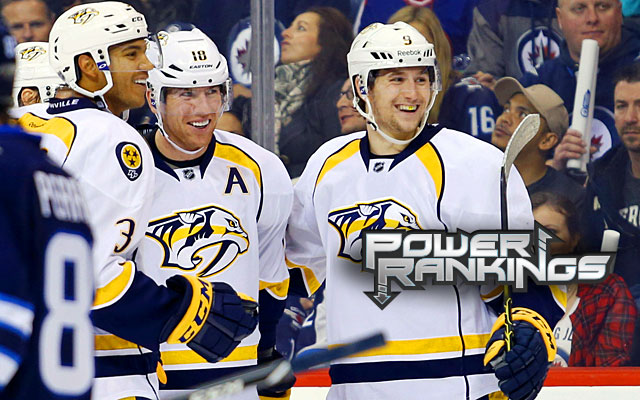 Expecting the Preds to keep up with the hot start might be too much, but so far they're all smiles. (USATSI)