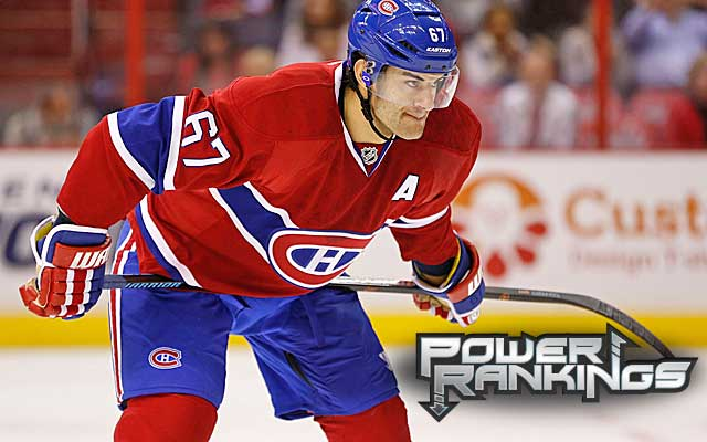 NHL Power Rankings: Red-hot Habs getting it done against top teams - NHL - CBSSports.com