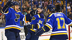 Gretz: Blues' big line