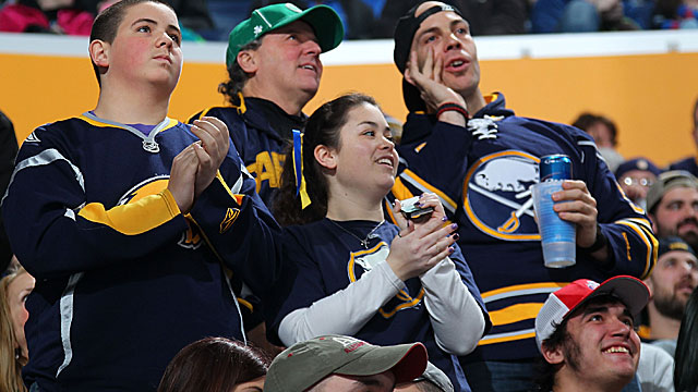 For Sabres fans, last place could do the team more good. (Getty Images)