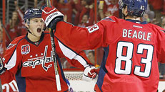 Caps blank Rangers in Game 3