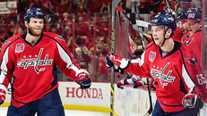 Capitals down Rangers, go up 3-1