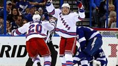 Rangers get even with Bolts