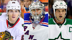 NHL first-quarter awards